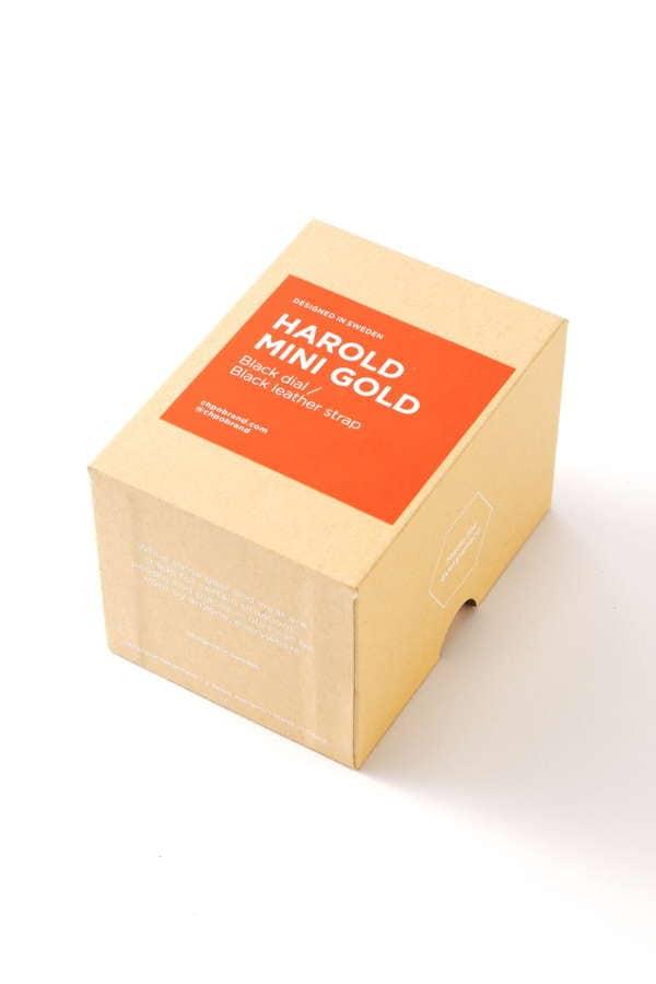 Harold Mini Gold/Black