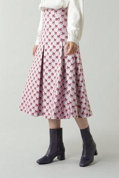 Foal Pleated Midi Skirt