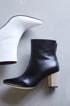 Pointed Bi Color Boots