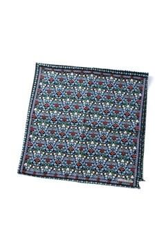 ボタニカルプリント柄バンダナスカーフ
