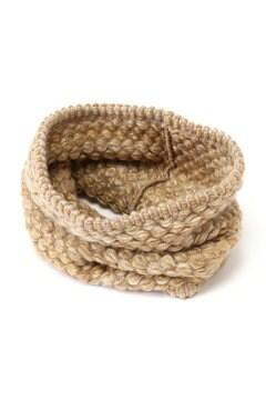 編みこみスヌード