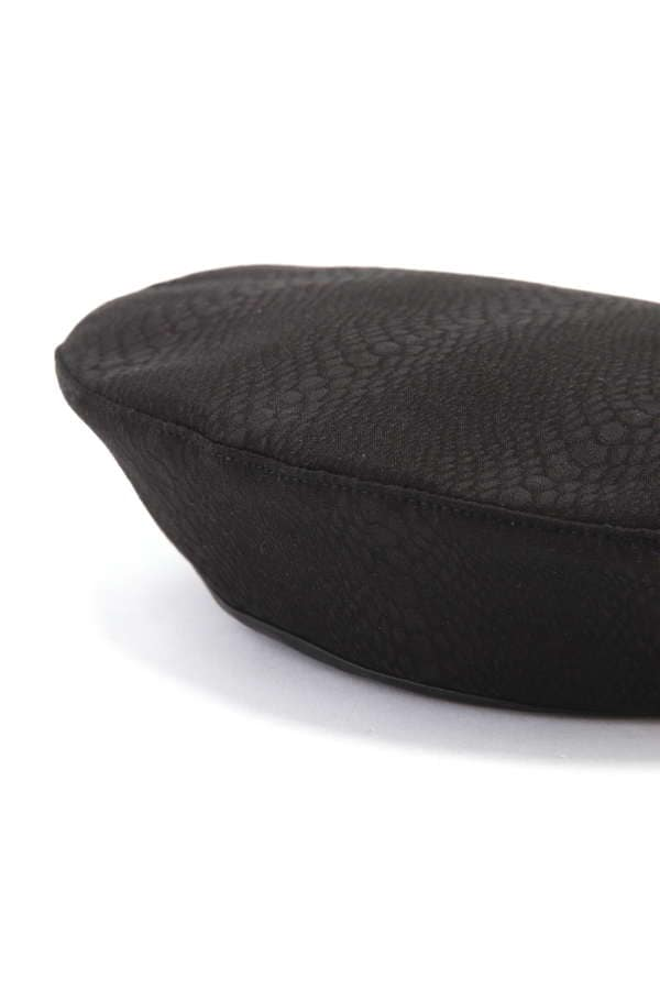 アニマル柄ベレー帽