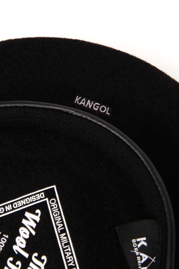 ブランドロゴベレー帽