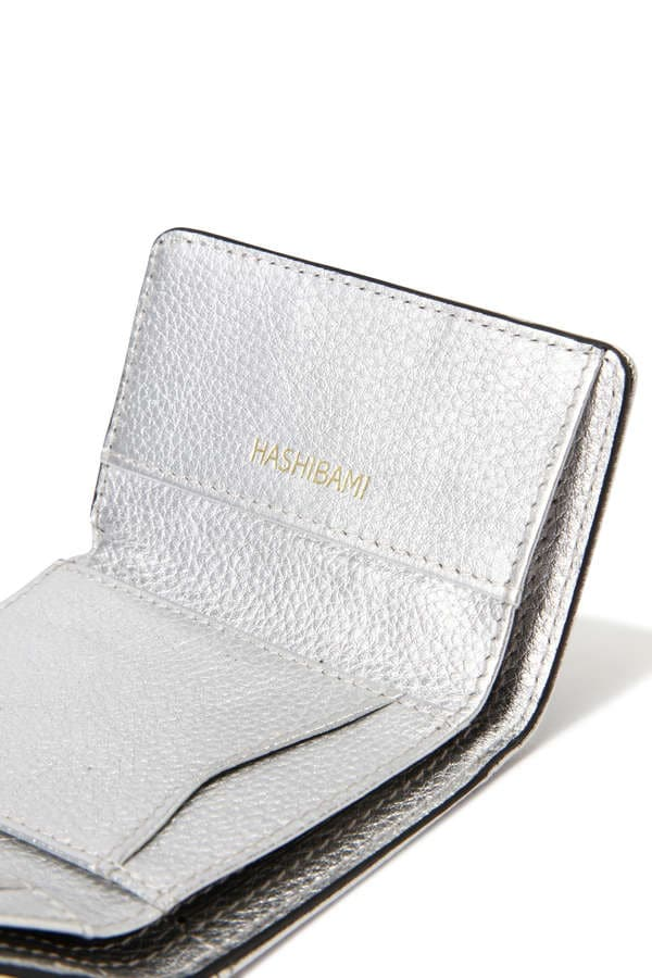 Hashibami New Jean Metallic Mini Wallet