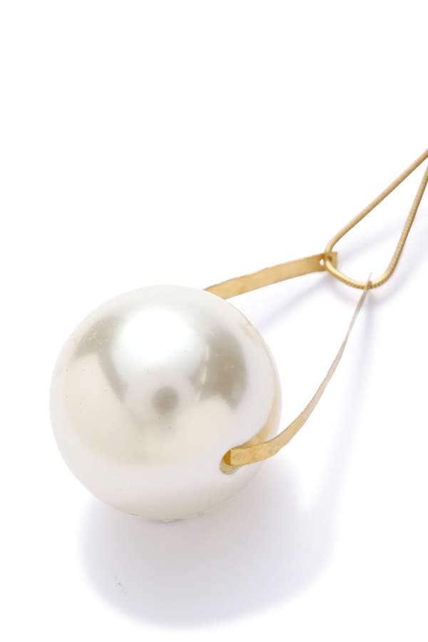 パールビーズイヤリング