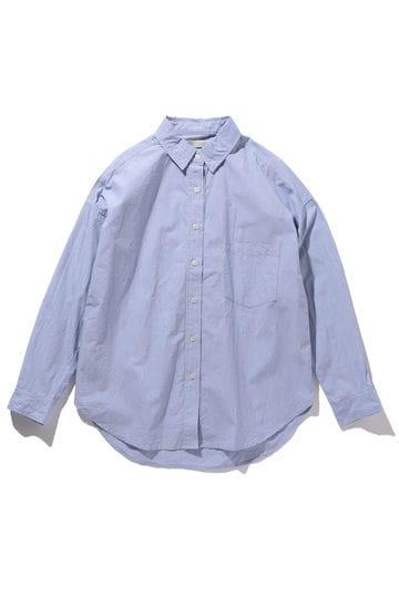 胸ポケット付きコットンシャツ