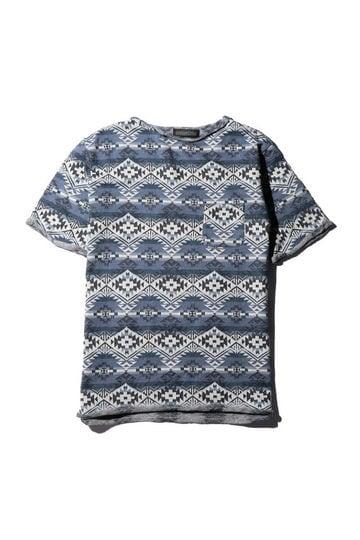 メンズネイティブ柄Tシャツ