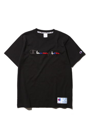 メンズ チャンピオンロゴTシャツ
