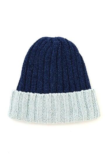 メンズリブニット帽