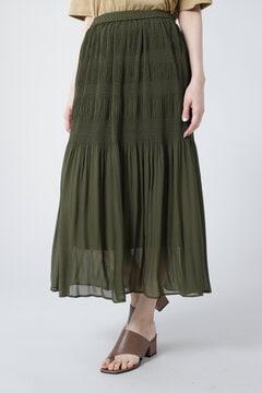 ギャザープリーツスカート