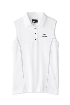 【PING】20 ノースリーブ ポロシャツ(LADIES)