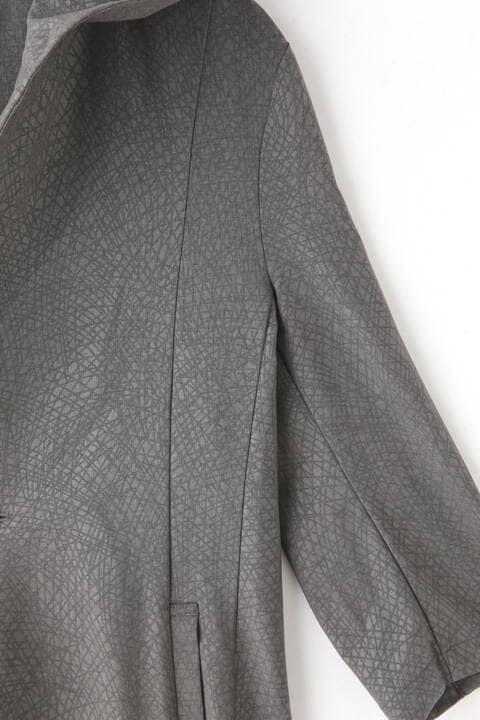 TORNADO MART∴扇エンボスフードジャケット