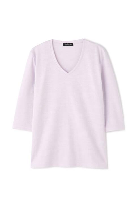 TORNADO MART∴ポリゴンクラウドリンクス七分袖カットソー