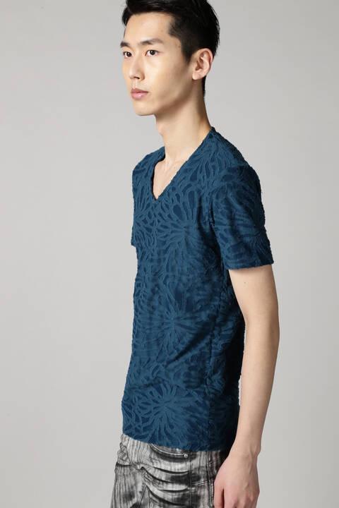 TORNADO MART∴クラッシュカットJQ半袖カットソー