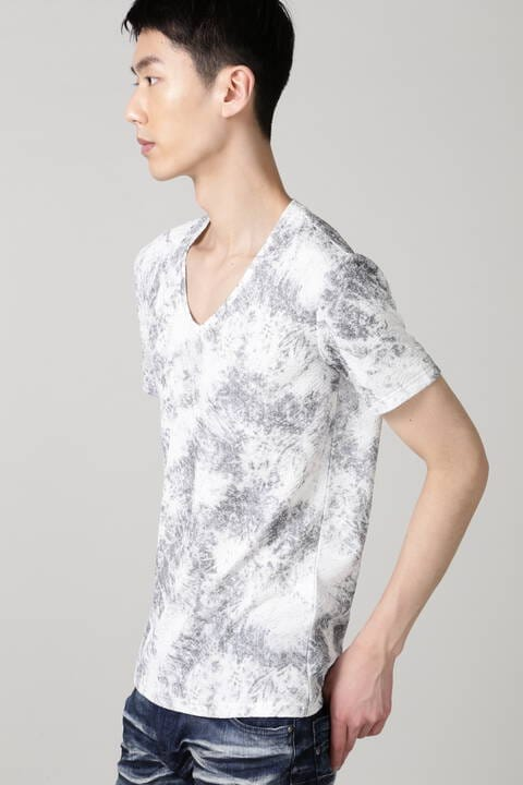 TORNADO MART∴ブリードライクフクレJQ半袖カットソー