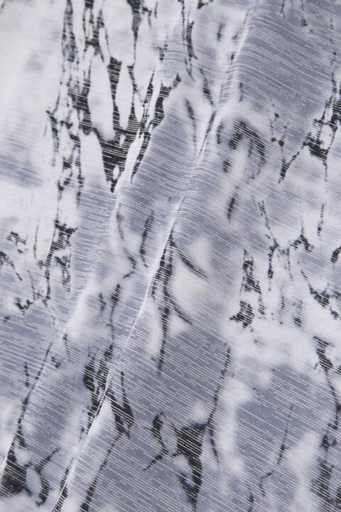 TORNADO MART∴マーブルプリントバンテージ半袖カットソー