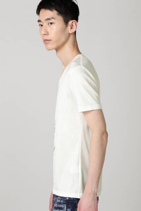 TORNADO MART∴フェザープリントスプラッシュJQ半袖カットソー