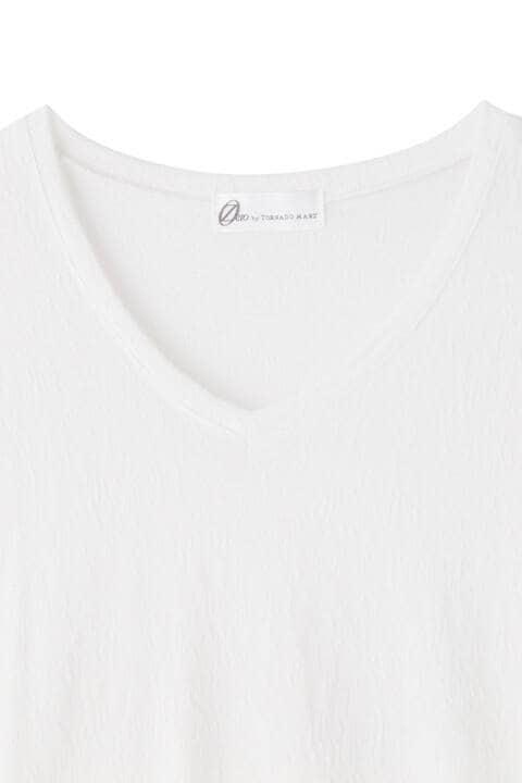 ZERO by TORNADO MART∴幾何JQ半袖カッットソー