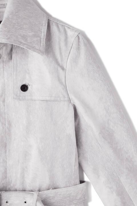 TORNADO MART∴T/Cスェード返し衿コート