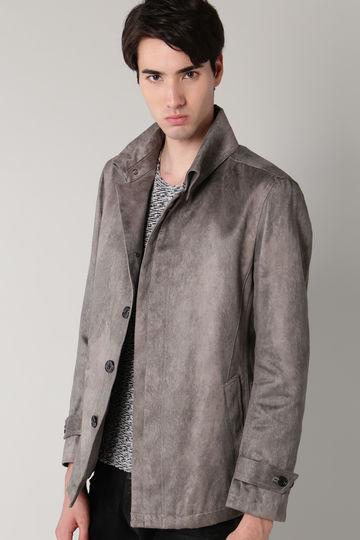 T/Cスェードヘアラインカバーオールジャケット