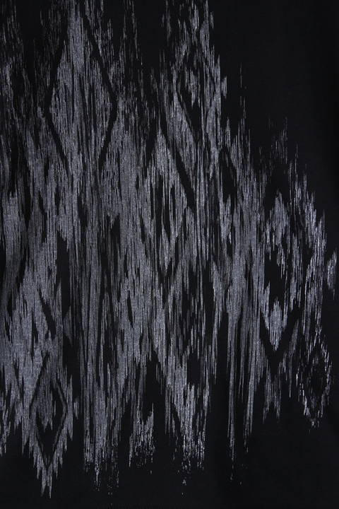 TORNADO MART: ソフト天竺オルテガプリントカットソー