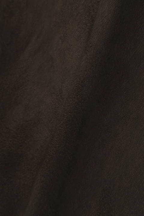 TORNADO MART (LADIES) ∴T/Cスエードトレンチコート