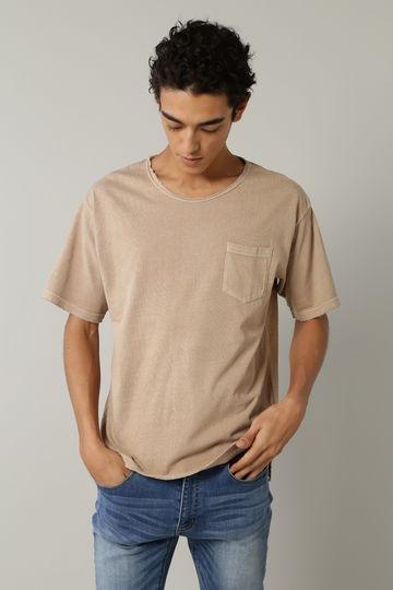 BLUE TORNADO: ピグメントバイオビッグTシャツ