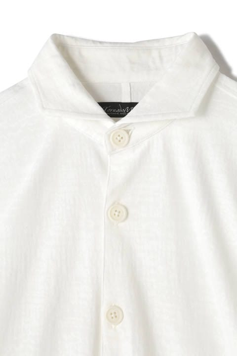 TORNADO MART∴ハイテンションムラジャガード7分袖シャツ