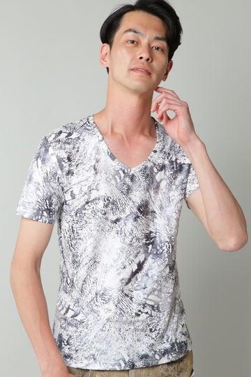 【桐山漣さん着用】TORNADO MART∴ダークアニマル半袖カットソー