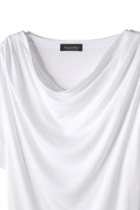 TORNADO MART∴ドレープ半袖カットソー