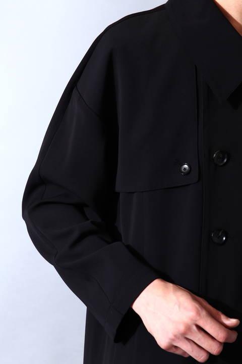 TORNADO MART∴WEB限定ドロップショルダーオーバーコート