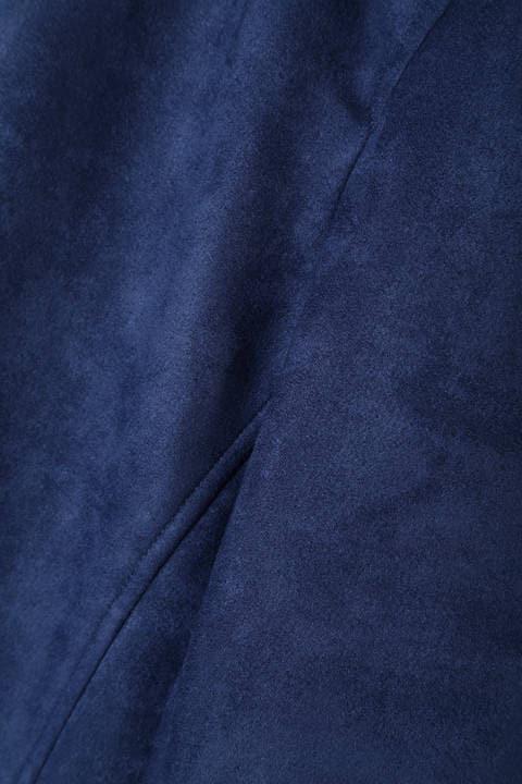 BLUE TORNADO∴ポンチスエードステンカラーコート