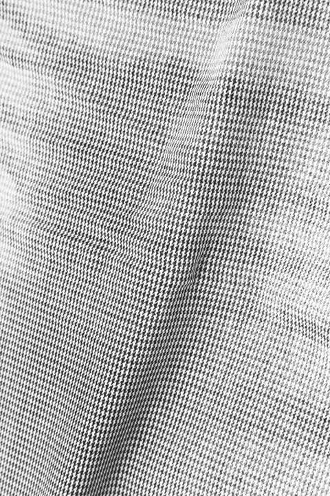 Zero by TORNADO MART∴千鳥ブリザードコーティングストレートパンツ