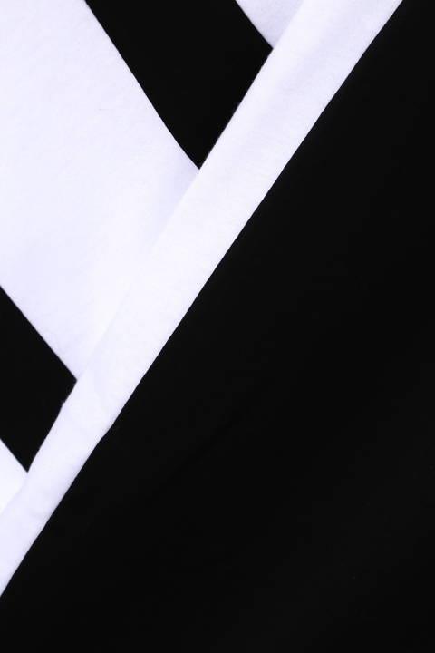 【ドラマ着用商品】BLUE TORNADO∴配色切替ハーフZipドルマン