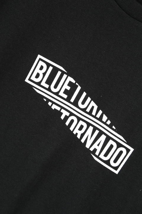 BLUE TORNADO∴ロゴボックス分割プリントTee