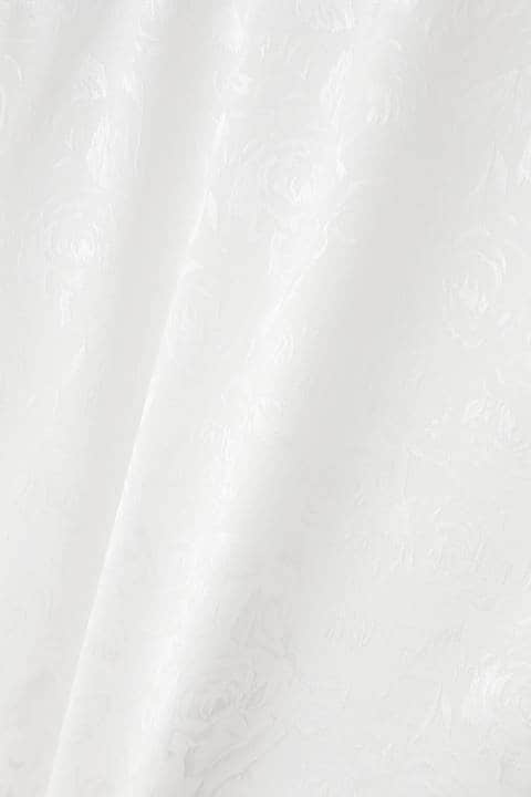 【LADIES'】TORNADO MART ∴レース切り替えドルマンシャツ