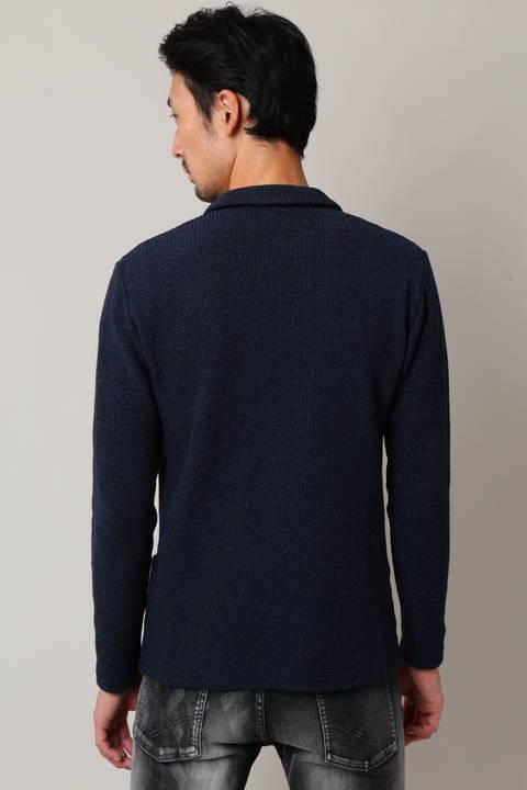 BLUE TORNADO 変わりラッセルカットジャケット