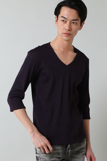 TORNADO MART∴スパークテレコ7分袖カットソー