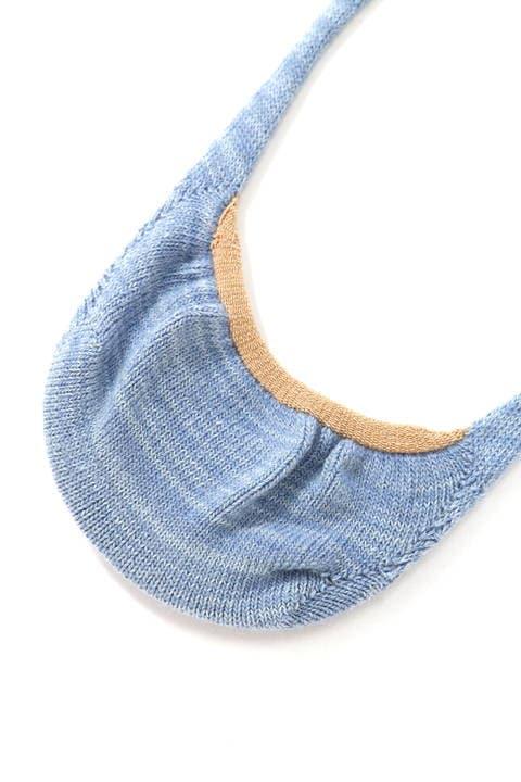 BLUE TORNADO∴3カラー切り替えスニーカーインソックス