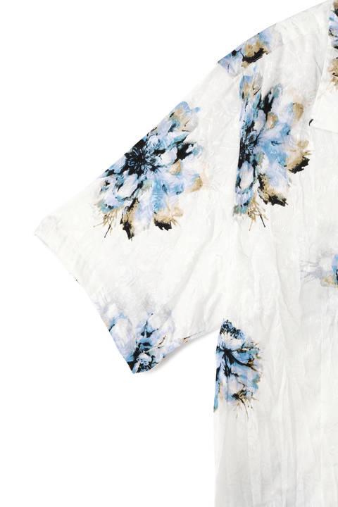 TORNADO MART∴マリーゴールドプリント半袖シャツ
