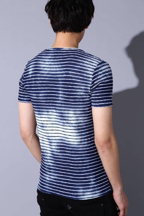 TORNADO MART∴ブリードボーダータックJQ半袖カットソー