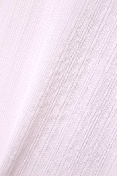 ZERO by TORNADO MART∴ランダム針抜きABSテレコ半袖カットソー