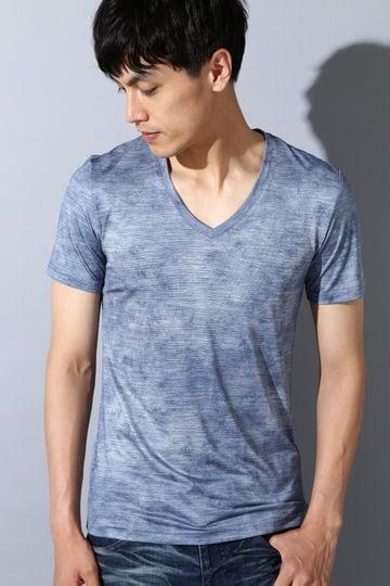 TORNADO MART∴リンクルフォイル半袖カットソー