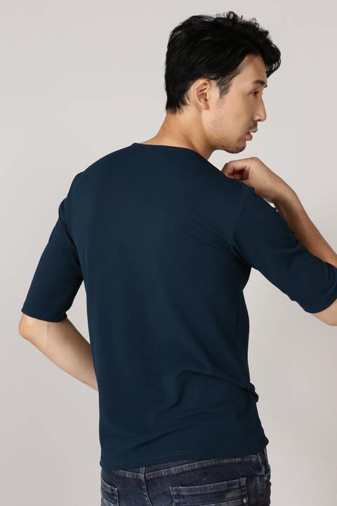 TORNADO MART∴ポップコーンジャージー5分袖カットソー