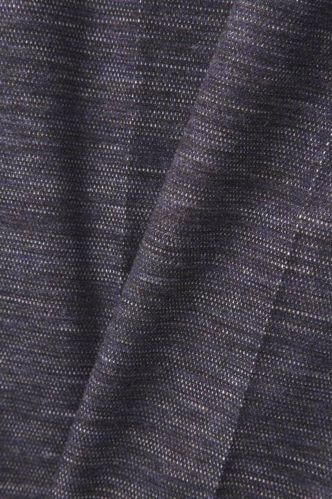 HIGH STREET∴メランジ麻綿Wフェースジャージパンツ