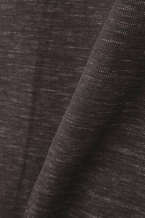 HIGH STREET∴メランジ麻綿Wフェースジャージイージーパンツ