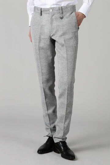HIGH STREET∴カラミ織テーパードパンツ