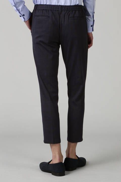 HIGH STREET∴BEL&COチェックプリントジャージパンツ