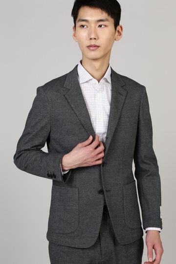 HIGH STREET∴BEL&CO綿麻ジャージジャケット