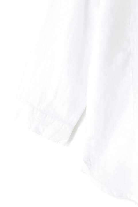 HIGH STREET∴麻ショートウイングカラーシャツ